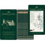 Faber-Castell pieštukų rinkinys 5B-5H, 12 vnt