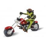 suvenyras - dovana Varlė su motociklu