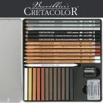 Rinkinys eskizavimui Cretacolor 27 vnt.