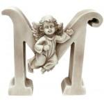 "Gispo raidė - angelas 13cm."" M"""